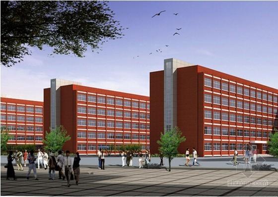[蚌埠]2栋学生公寓楼建筑安装工程量清单计价实例(含施工图纸)