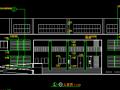 三层幼儿园建筑平立剖图