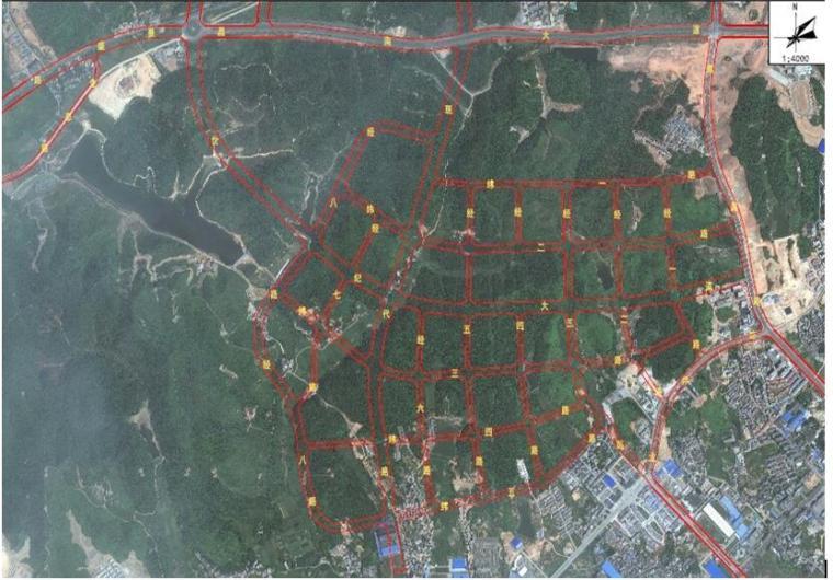 [江西]创意新区主干道路网建设工程整体施工组织设计