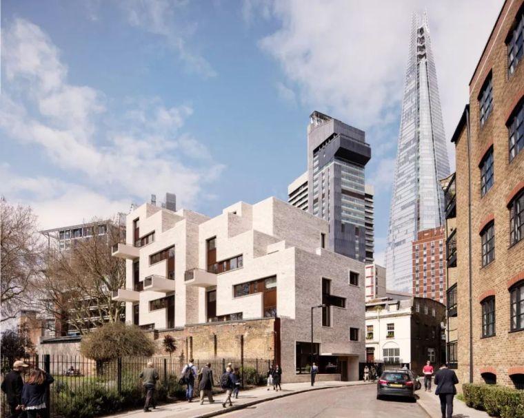 建筑师独立开发的公寓楼,真是好房子!_1