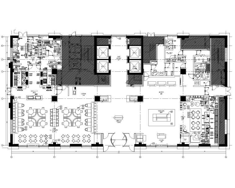 天津万怡酒店CAD施工图+设计方案(附效果图)