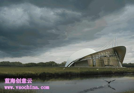 vray渲染视频资料下载-建筑可视化如何用Vray建筑渲染表现蓝海创意云