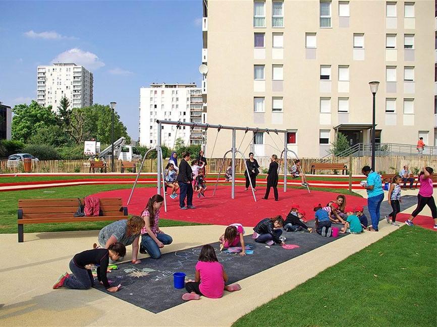 法国阿尔福维尔儿童游乐场-1