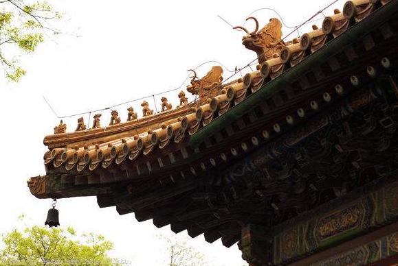 古建筑屋顶檐角屋脊兽的象征意义