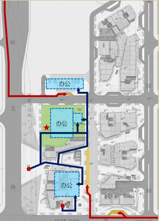 [深圳]超高层呢双子塔物流中心建筑设计方案文本(含CAD图纸)_11