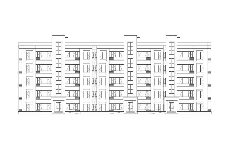 [上海]夏阳街道华科路南侧居住区建筑施工图设计(CAD)