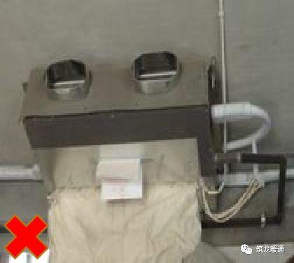 风管安装常见11项质量问题实例,室内机安装质量解析!_21