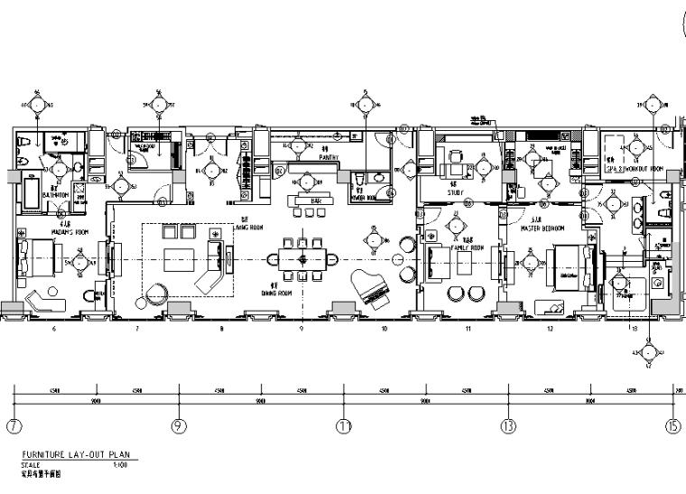 [山东]青岛艾美酒店设计施工图(附效果图)