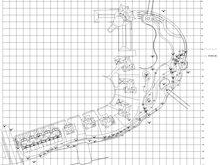 某别墅区景观设计施工图(英式风格)