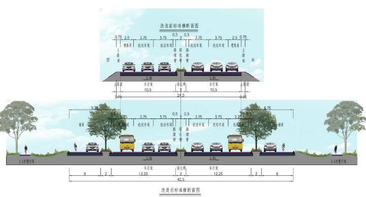 市政道路精美方案设计,管线、景观、生态雨水、自然水处理......