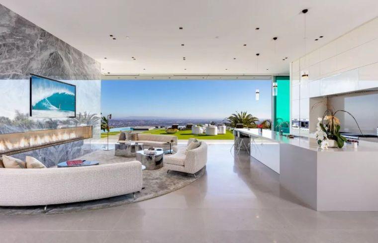 3.98亿的超级山顶豪宅,无比奢侈的观景台_36