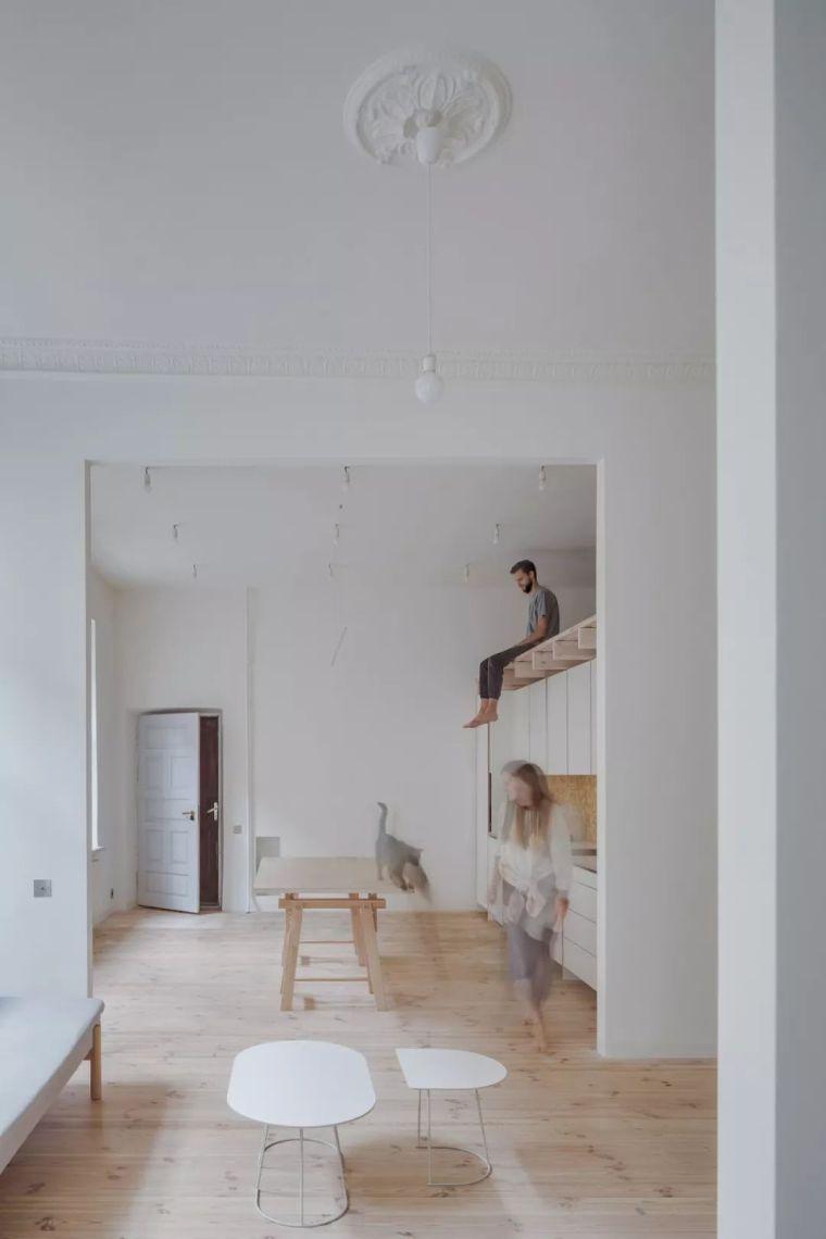 这 3 个老房翻新后, 现代极简的风格美到哭!