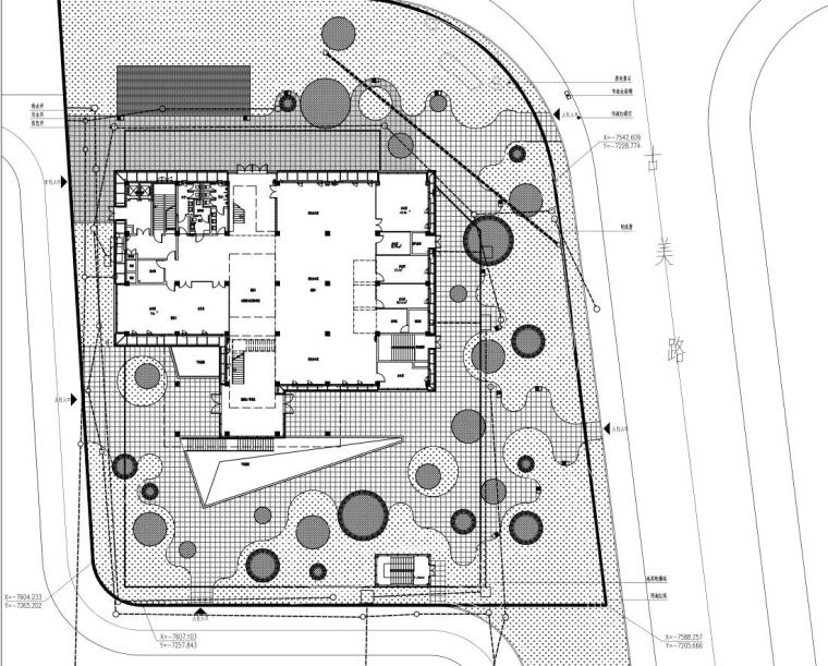 [湖北]漕河泾企业创新孵化器景观施工图设计