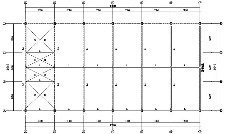 门式刚架结构工程施工图(CAD,21张)