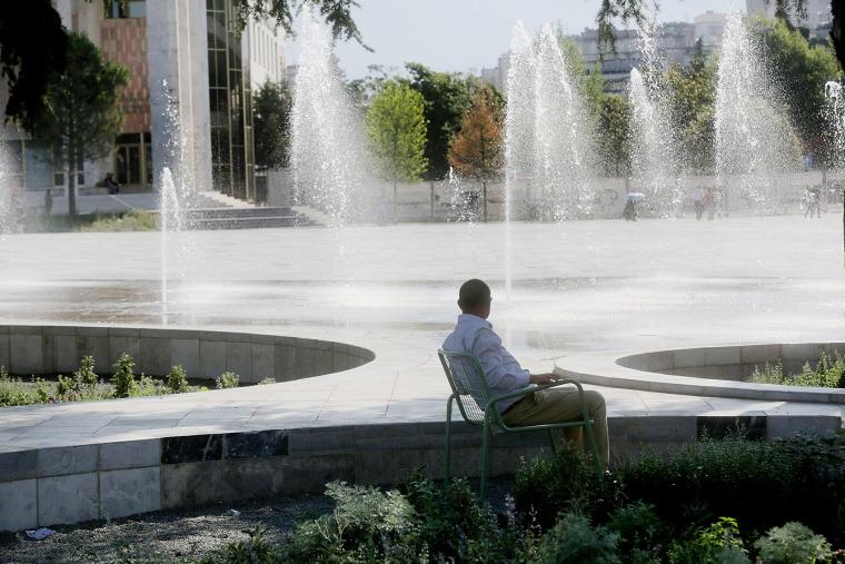 阿尔巴尼亚Skanderbeg广场改造-10