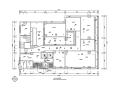 某美容院全套室內裝修設計CAD圖紙(67張)