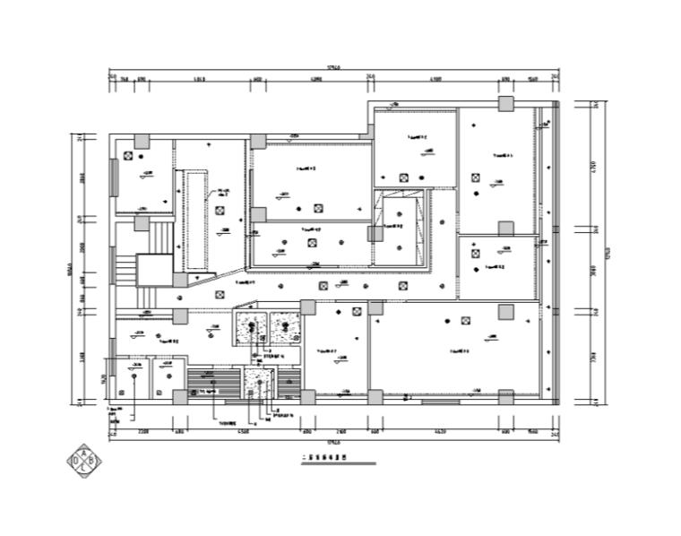 某美容院全套室内装修设计CAD图纸(67张)