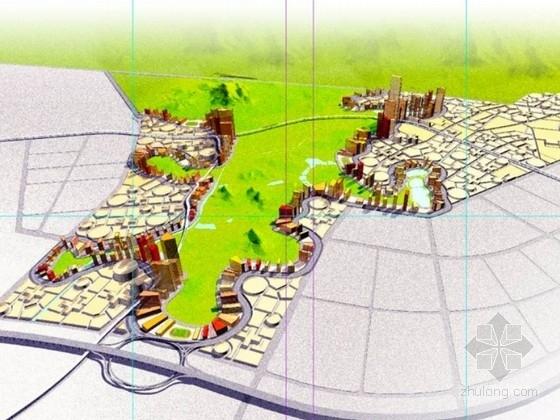 [深圳]某区城市规划及单体设计方案文本
