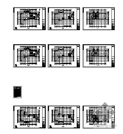 [徐州]某国际花园城售楼建筑结构水电施工图-2