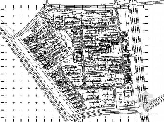 [天津]某高档住宅小区总体规划