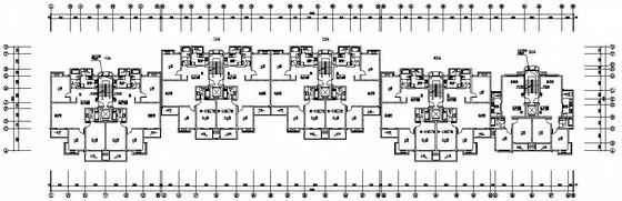 湖南某住宅小区弱电智能化系统平面施工图