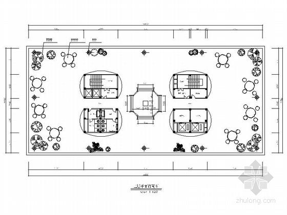 [江西]传统中式文化展示馆室内装修施工图(含文本展示)