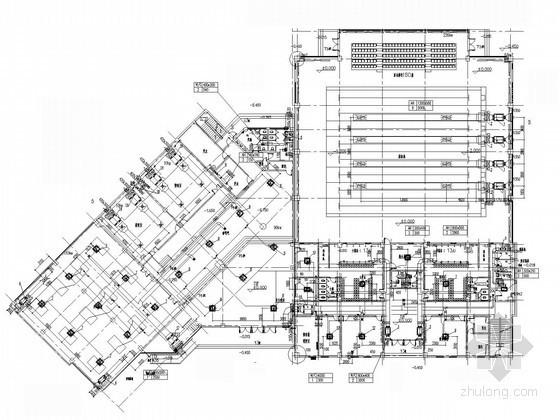 [上海]二层游泳馆建筑暖通空调及通风排烟设计施工图