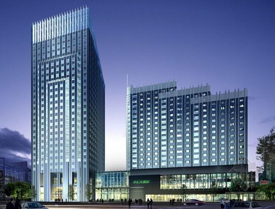 [南京]酒店暖通空调工程量清单计价实例(全套)