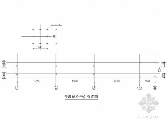 煤矿皮带走廊钢结构施工图