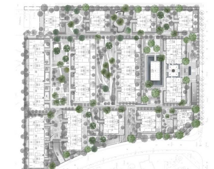 [北京]城区高端院落式住宅小区景观设计方案