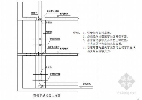 泵送混凝土施工技术交底