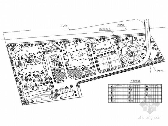 [浙江]老年人公寓景观规划施工图