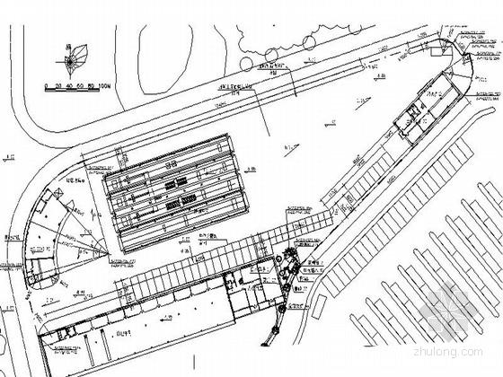 [浙江]汽车综合性能检测站室外景观施工图