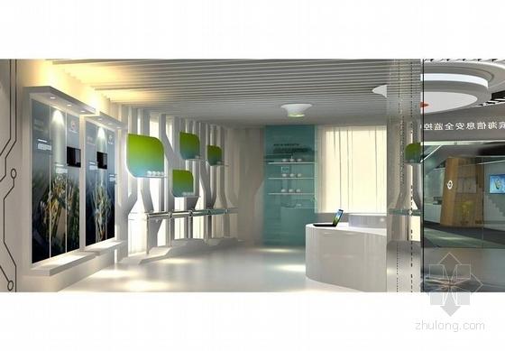 [天津]科技公司产品展览展示中心汇报方案-科技公司产品展览展示中心汇报方案效果图