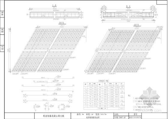 现浇钢筋混凝土简支板通用图(95张)