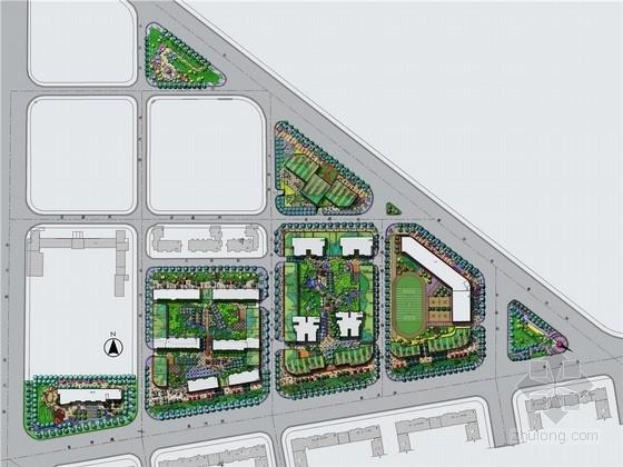 [大连]现代自然主义城市规划景观设计方案