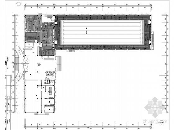 [黑龙江]电厂综合楼地暖及空调通风系统施工图(含泳池)
