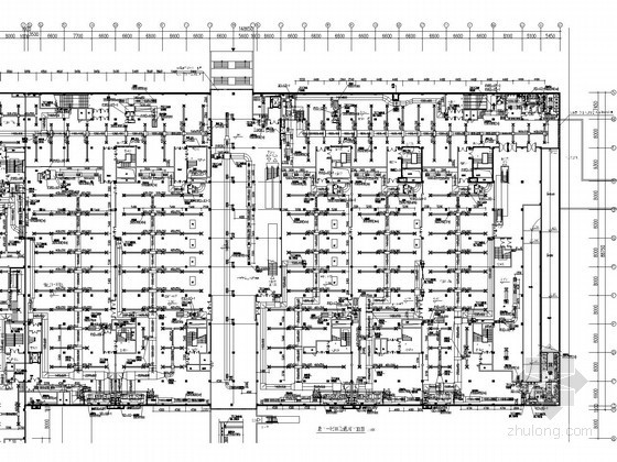 [北京]火车站地下商城空调通风设计施工图(大样图丰富)