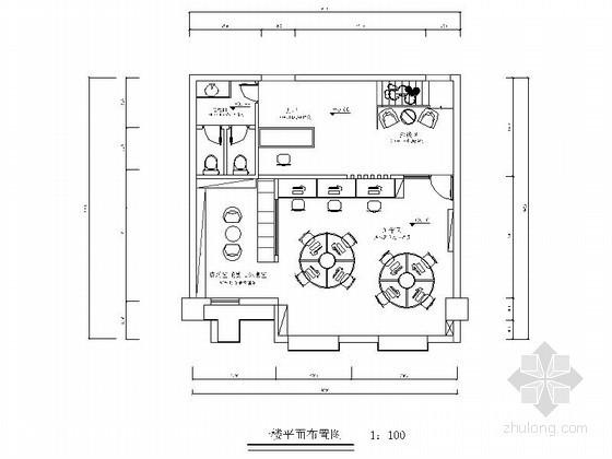[南京]某工贸办公空间装修图(含效果)