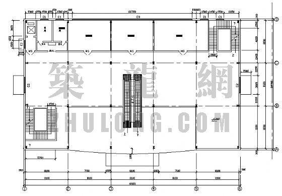 某钢结构超市[含结构图]-4