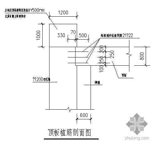 广州某植筋工程施工工艺