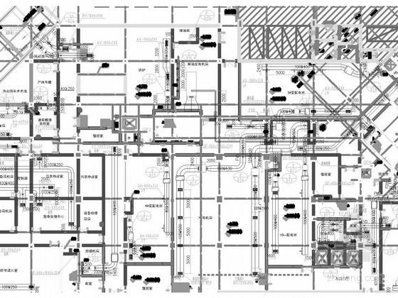 vrf空调资料下载-[浙江]高层门诊医技楼空调及通风排烟系统设计施工图(净化空调系统 VRF系统)