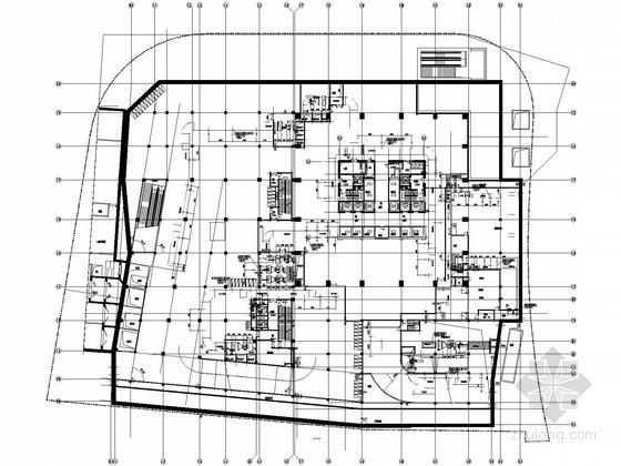 [武汉]超高层综合大厦暖通空调设计施工图(12万平米)