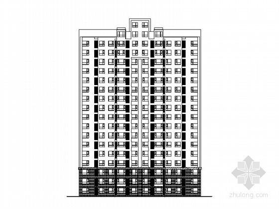 [天津]松江武台某十七层一梯四住宅楼建筑施工图