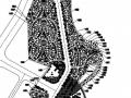 度假村景观规划设计总平面图
