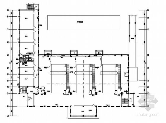 大型燃煤锅炉房室内外给排水及消防设计图