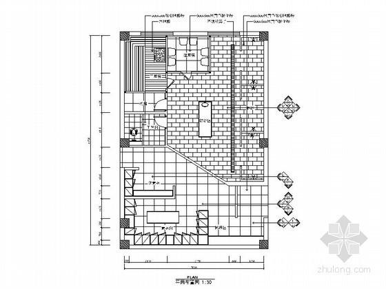 某洗浴中心女浴区设计装修图