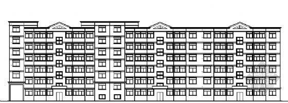 某六层住宅建筑设计图纸