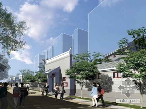 [北京市东城区]某危改项目设计方案