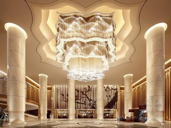[广州]白云新城全球品牌连锁尊贵典雅五星级酒店设计方案